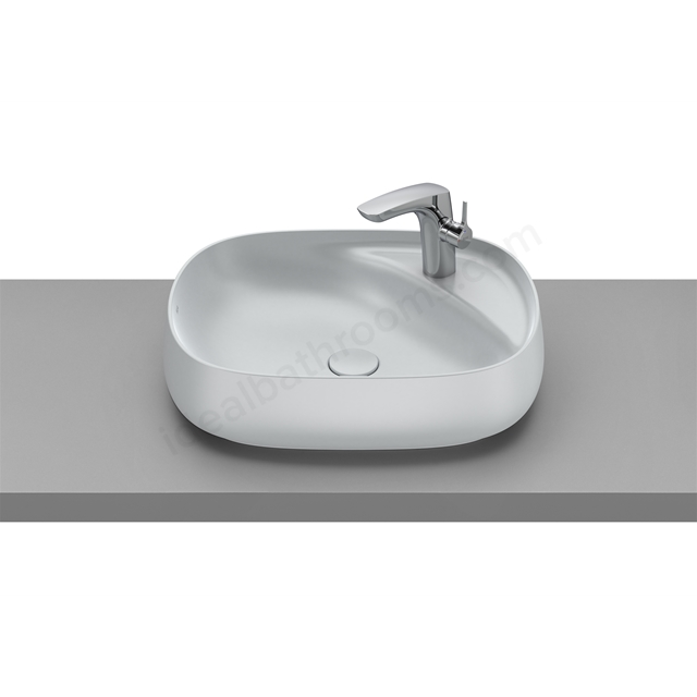Roca Beyond On-Countertop Basin 585X455 - Pearl
