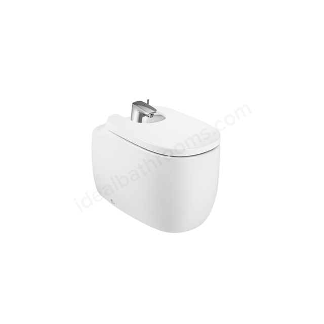 Roca Beyond Floorstanding Bidet 1Th (With Cover Holes) - Pearl
