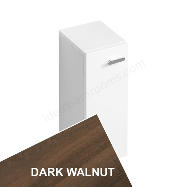 Ideal Standard CONCEPT Wall Hung Base Unit; 200x300mm; 1 Door; Dark Walnut