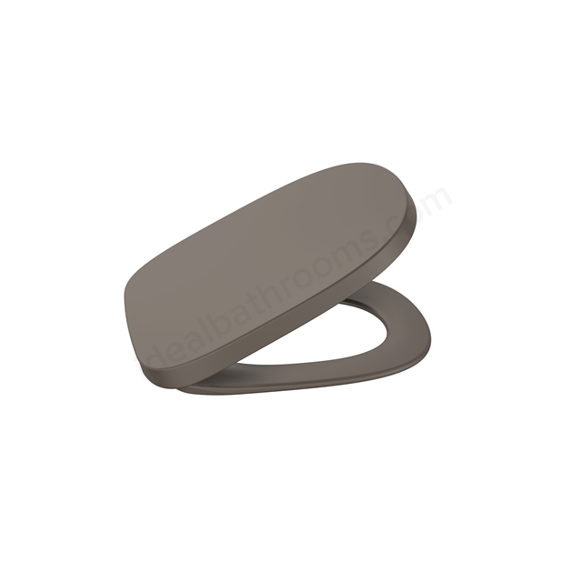 Roca Beyond Soft-Close Seat & Cover - Coffee