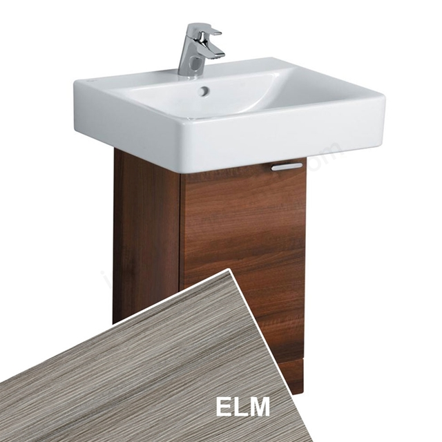 Ideal Standard CONCEPT Wall Hung Basin Unit; 300x300mm; 1 Door; Elm