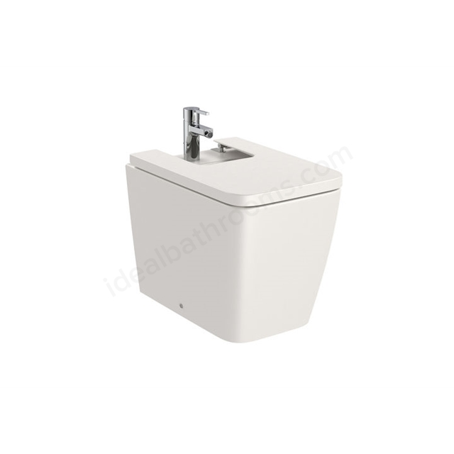 Roca Inspira Square Back-To-Wall Bidet 1Th - Beige