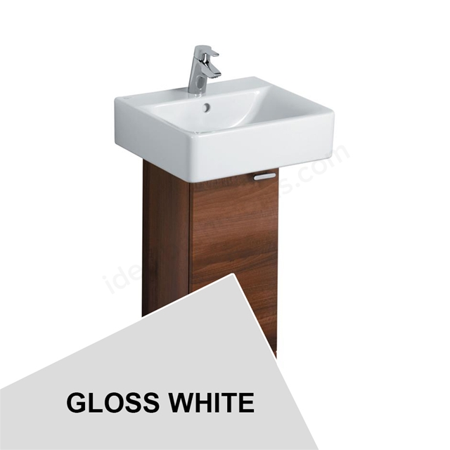 Ideal Standard Concept 300 X 300Mm Full Pedestal Unit With One Door - Gloss White