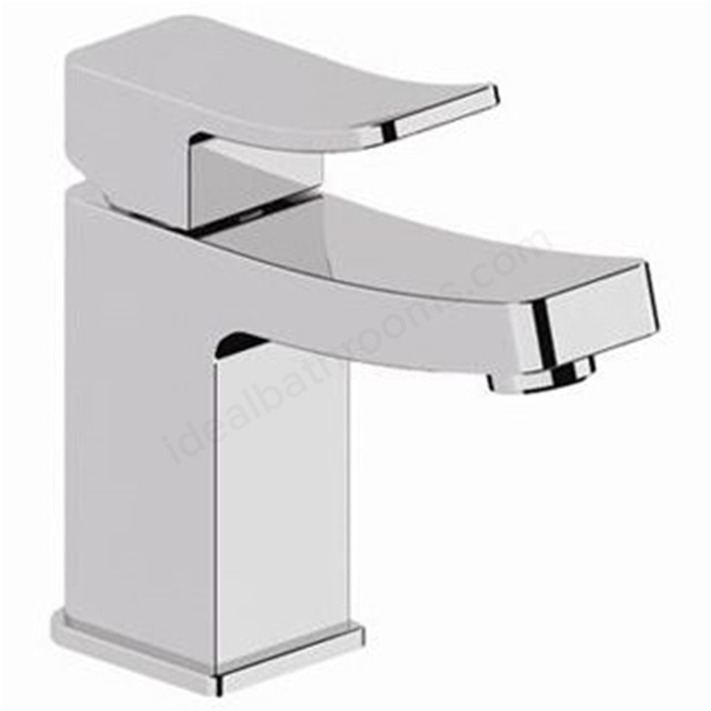 BAGNODESIGN Kudos cube  mono basin mixer with pop up waste Chrome