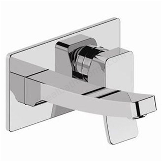 BAGNODESIGN Kudos cube  concealed basin mixer Chrome