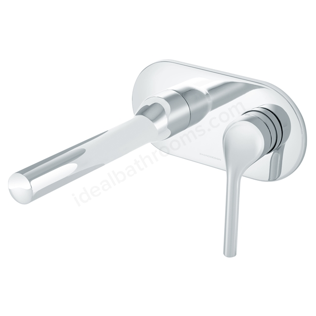 BAGNODESIGN Koy concealed  basin mixer Chrome
