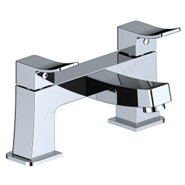 BAGNODESIGN Kudos cube  bath mixer Chrome