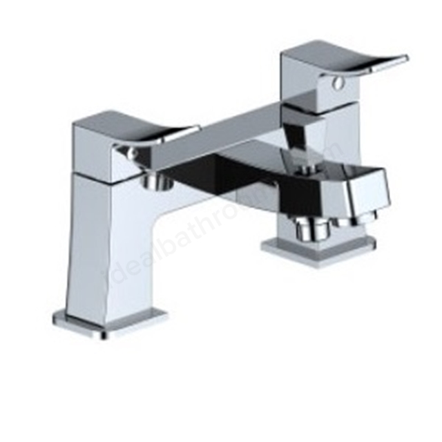 BAGNODESIGN Kudos cube  bath/shower mixer Chrome