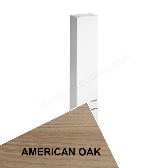Ideal Standard Concept Space 300Mm X 210Mm Tall Unit With Two Doors - American Oak
