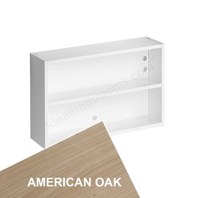 Ideal Standard Concept Space 600Mm Fill In Shelf Unit - American Oak