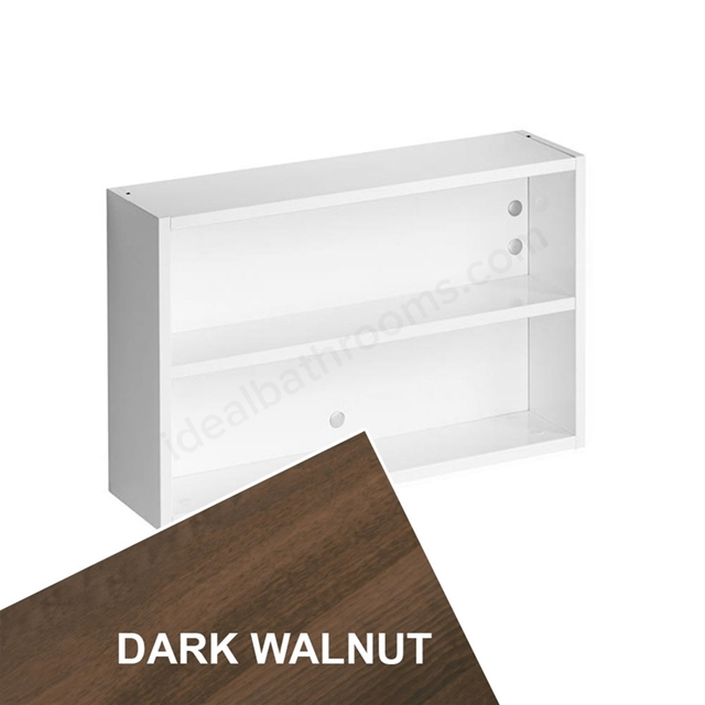 Ideal Standard Concept Space 600Mm Fill In Shelf Unit - Dark Walnut