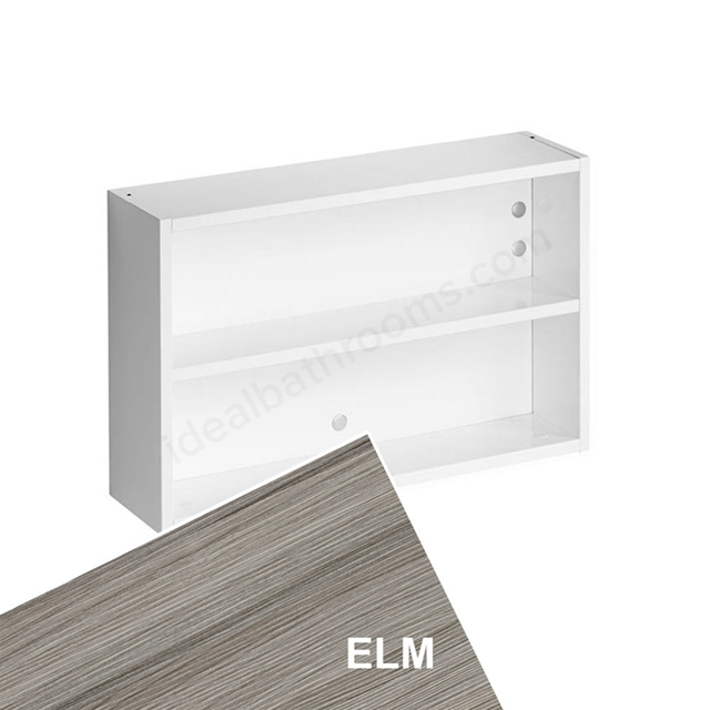 Ideal Standard Concept Space 600Mm Fill In Shelf Unit - Elm