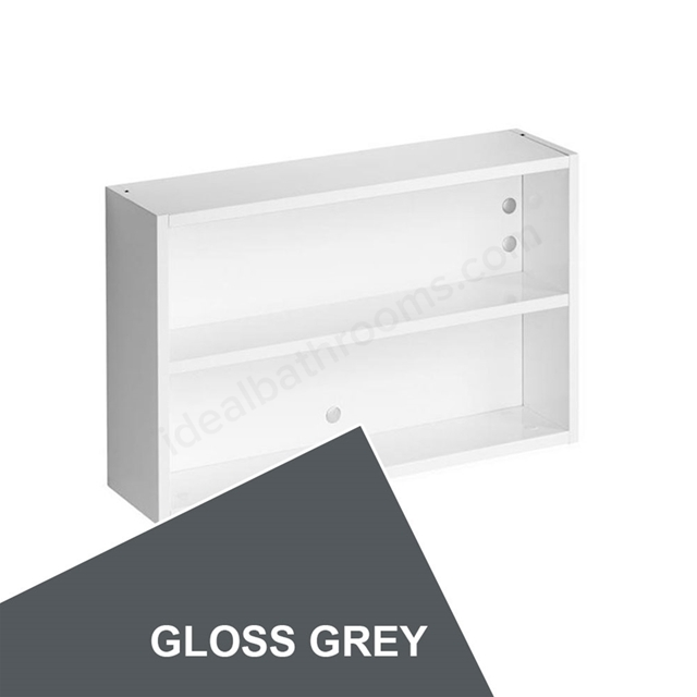 Ideal Standard Concept Space 600Mm Fill In Shelf Unit - Grey