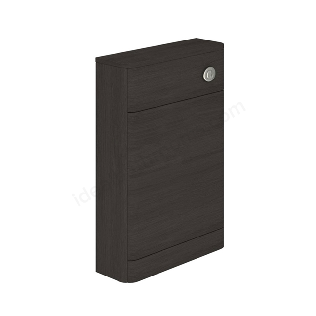 Essential VERMONT WC Unit, 550mm Wide x 205mm Deep, Dark Grey