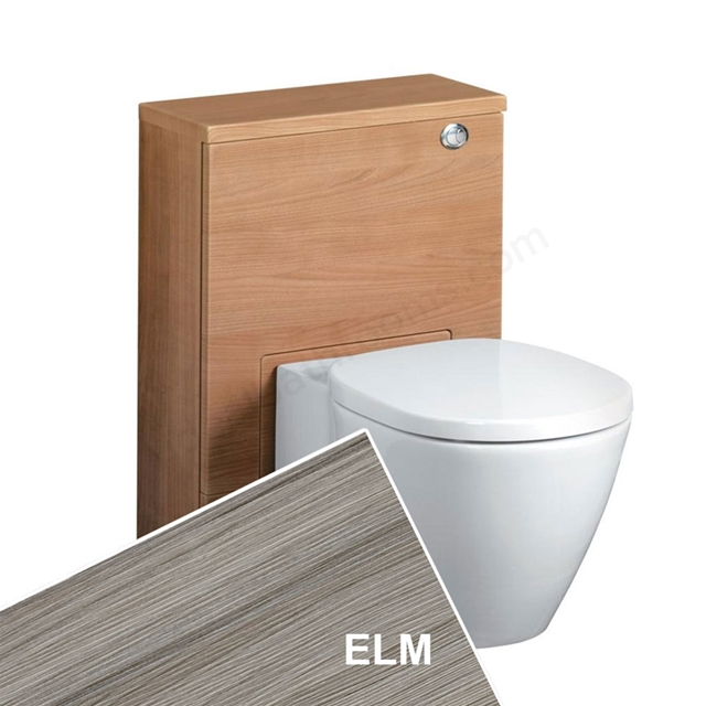 Ideal Standard CONCEPT Wc Unit with Cistern & Push Button; 500x210mm; Elm