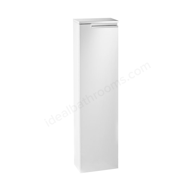 Roca VICTORIA-N Column Unit Right handed; 1 Door; 250mm Wide; Gloss White