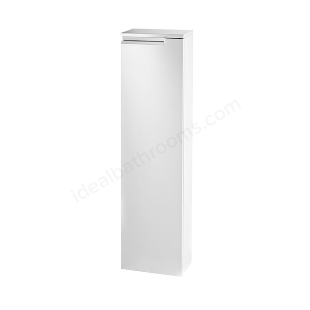 Roca VICTORIA-N Column Unit Left handed; 1 Door; 250mm Wide; Gloss White