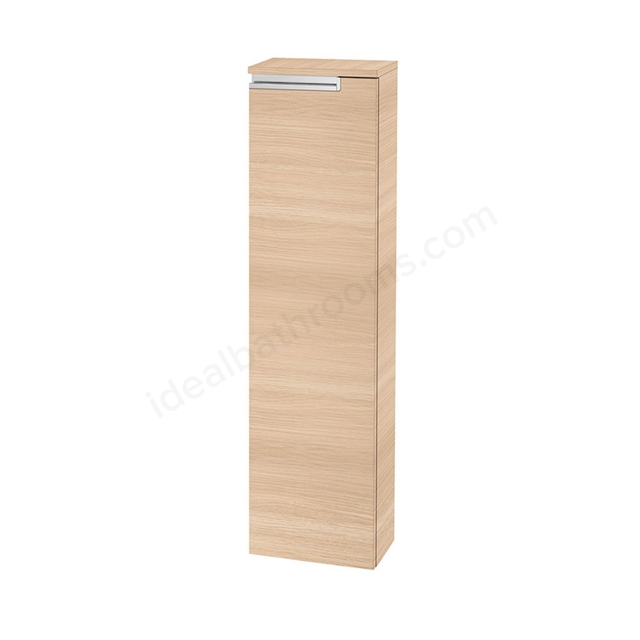 Roca VICTORIA-N Column Unit Left handed; 1 Door; 250mm Wide; Textured Oak