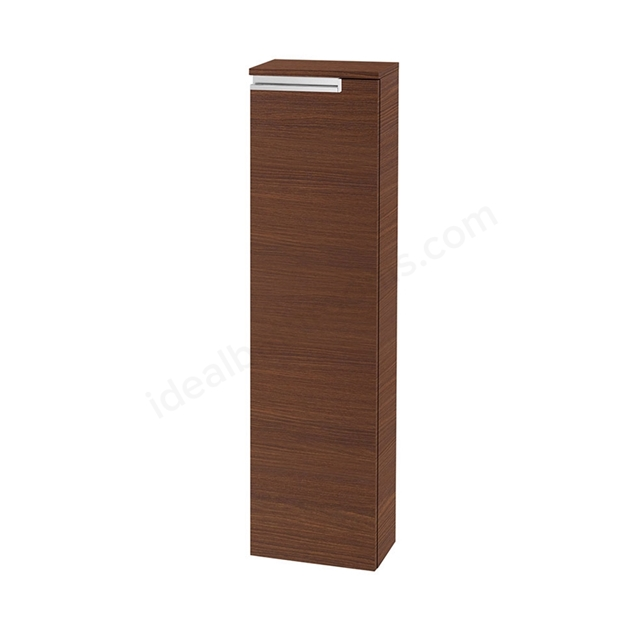 Roca VICTORIA-N Column Unit Left handed; 1 Door; 250mm Wide; Textured Wenge