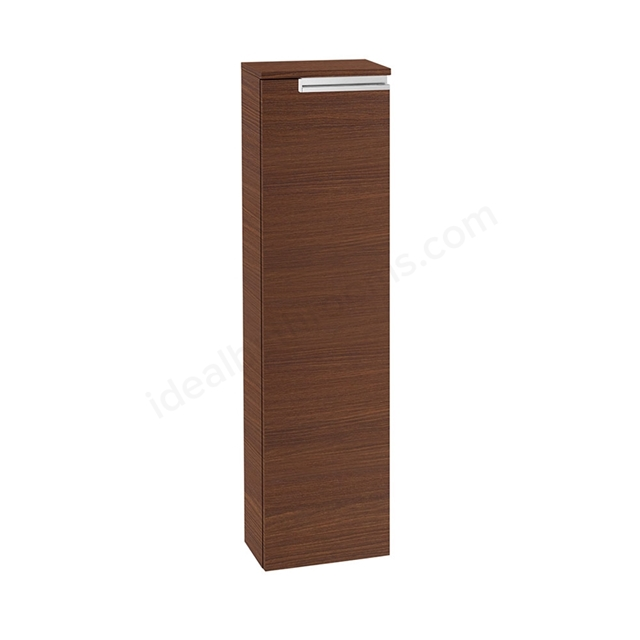 Roca VICTORIA-N Column Unit Right handed; 1 Door; 250mm Wide; Textured Wenge