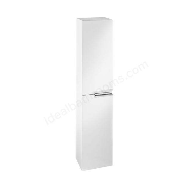 Roca VICTORIA-N Column Unit, 1 Door Reversible, 350mm Wide, Gloss White
