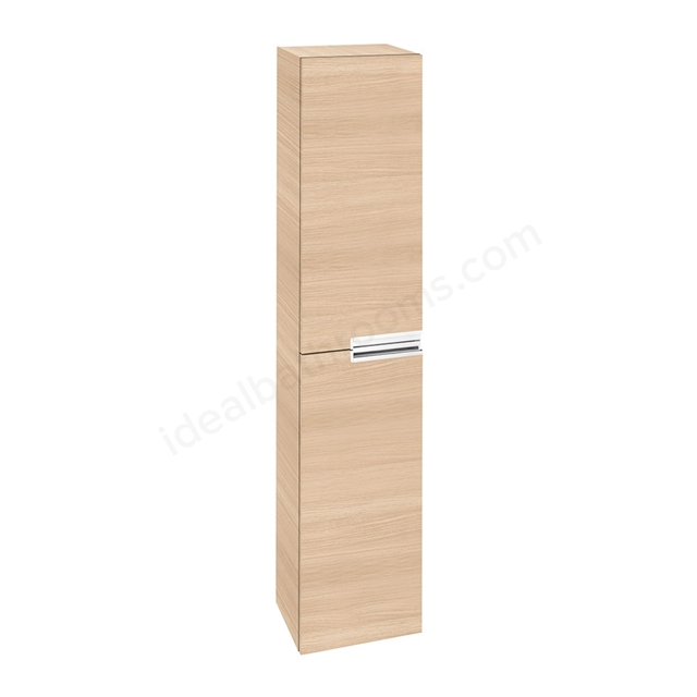 Roca VICTORIA-N Column Unit; 1 Door Reversible; 350mm Wide; Textured Oak