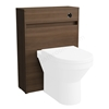 Vitra S50 Floorstanding Toilet Unit Only; 600mm Wide; Oak
