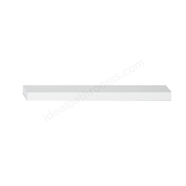 Vitra S20/S50 Wooden Shelf, 450mm Wide, Gloss White