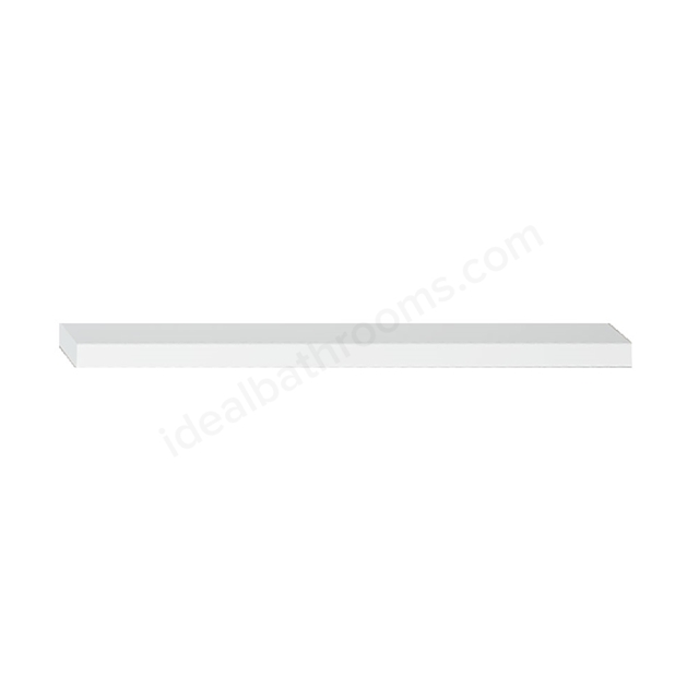 Vitra S20/S50 Wooden Shelf, 600mm Wide, Gloss White