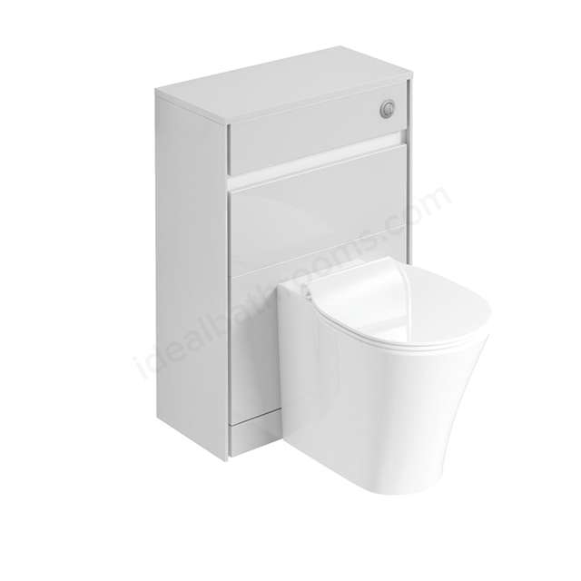 Ideal Standard CONCEPT AIR Toilet Unit Only; 600mm Wide; Gloss White / Matt White