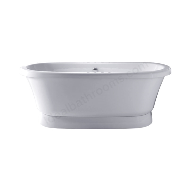 Essential LEWISHAM Freestanding Oval Double Ended Bath, 1700x750mm