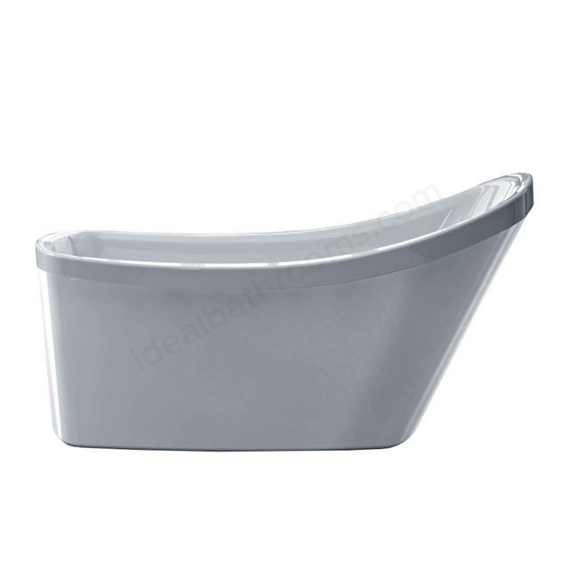 Essential LEWISHAM Freestanding Curved Single Ended Bath, 1550x810mm