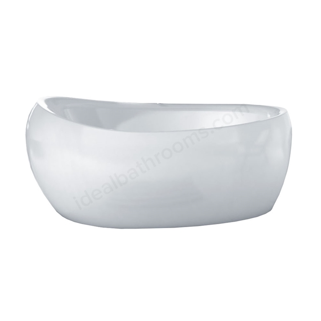 Essential MAYFAIR Freestanding Oval Single Ended Bath, 1700x700mm
