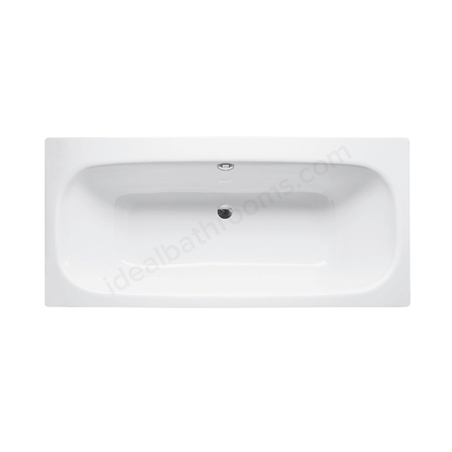 Bette DUETT Steel Bath, Double Ended, 1700x800mm, 0 Tap Hole, White