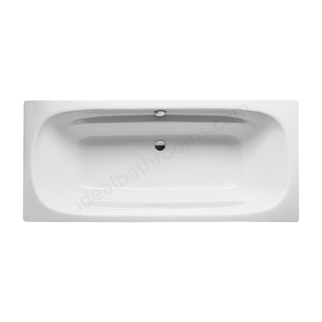 Bette DUO Steel Bath, Double Ended, 1800x800mm, 0 Tap Hole, White