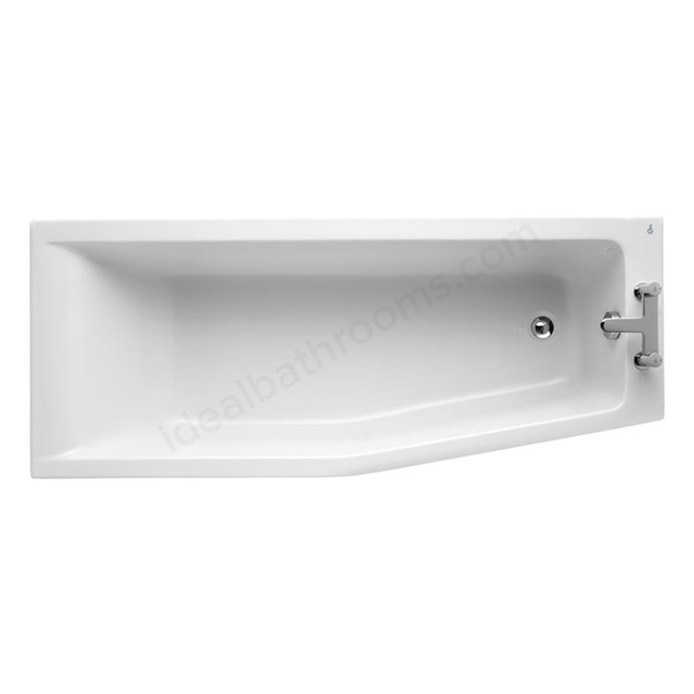 Ideal Standard CONCEPT Right Handed Spacemaker Bath; 0 Tap Holes; 1700mm; White