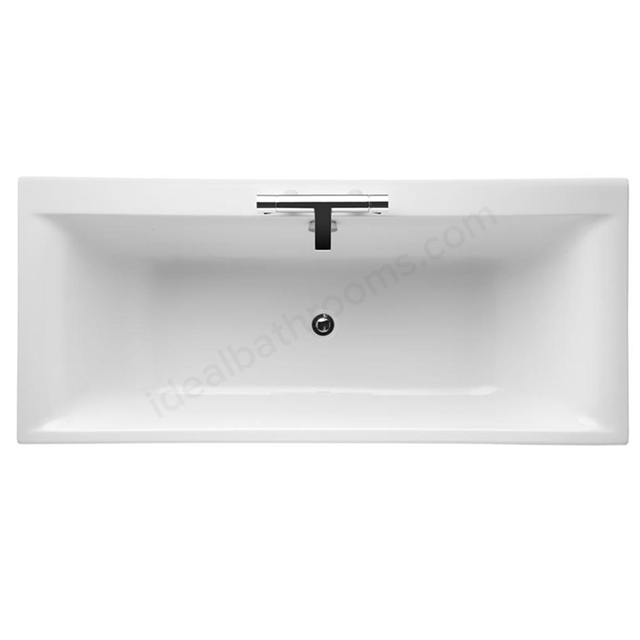 Ideal Standard CONCEPT Double Ended Rectangular Bath; 2 Tap Holes; 1700x750mm