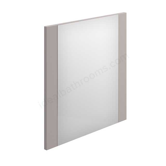 Essential NEVADA Bathroom Mirror; Rectangular; 550x600mm; Cashmere