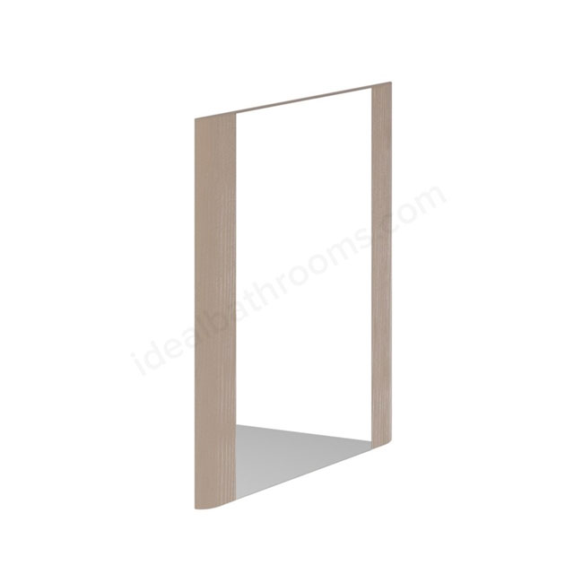 Essential VERMONT Bathroom Mirror; Rectangular; 450x600mm; Light Grey