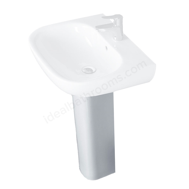 Essential LILY Full Pedestal Only; White