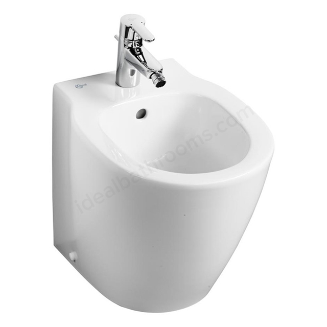 Ideal Standard CONCEPT SPACE Compact Back to Wall Toilet Pan; Horizontal Outlet; White