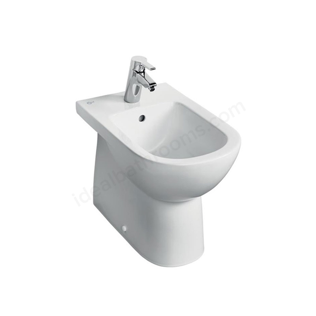 Ideal Standard TEMPO Back To Wall Bidet; 1 Tap Hole; White