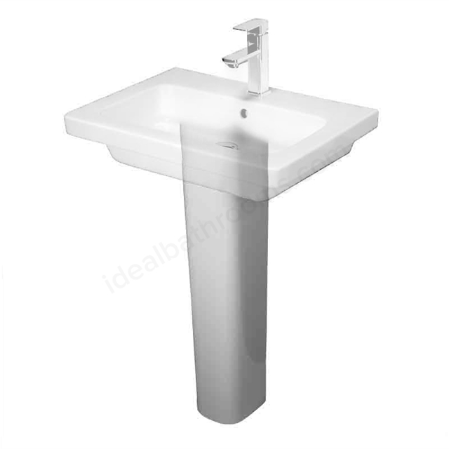 Essential IVY Extended Full Pedestal Only; White