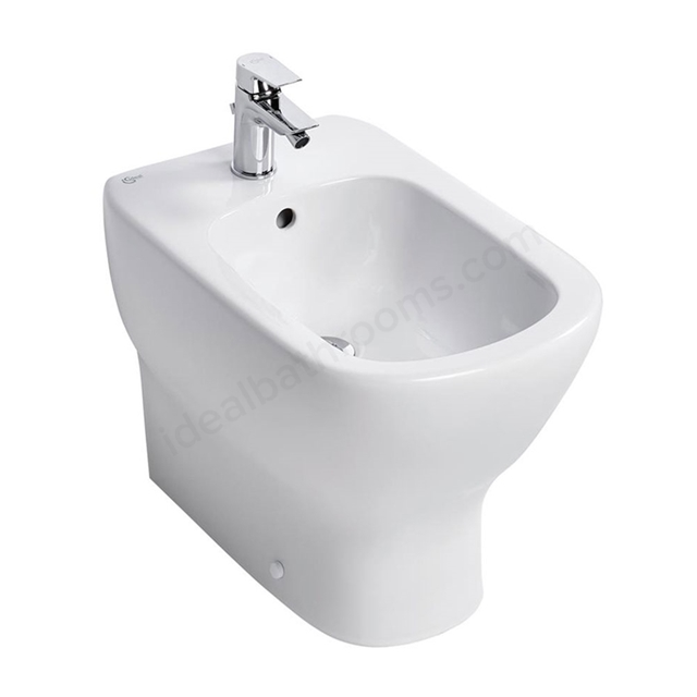 Ideal Standard TESI Back to Wall Bidet; 1 Tap Hole; White
