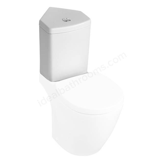 Ideal Standard CONCEPT SPACE Corner Close Coupled Cistern; Dual Flush 6/4 Litre; White