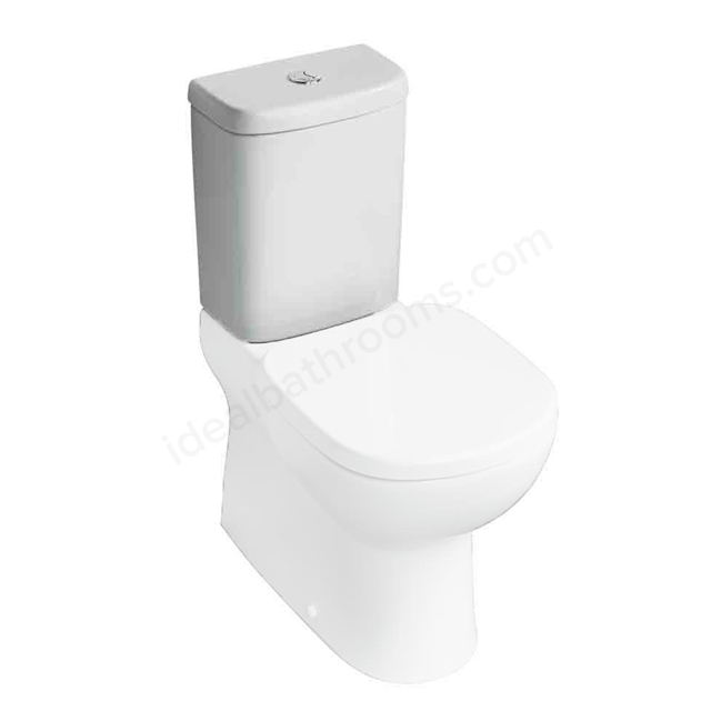Ideal Standard TEMPO Close Coupled Cistern; Dual Flush 6/4 Litre; White