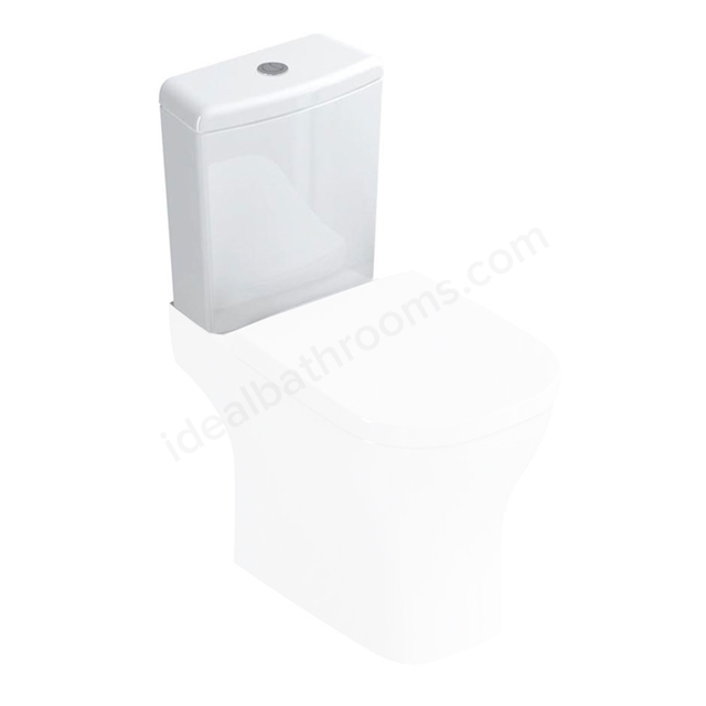 Ideal Standard SOFTMOOD Close Coupled Cistern, Dual Flush 4.5/3 Litre, White