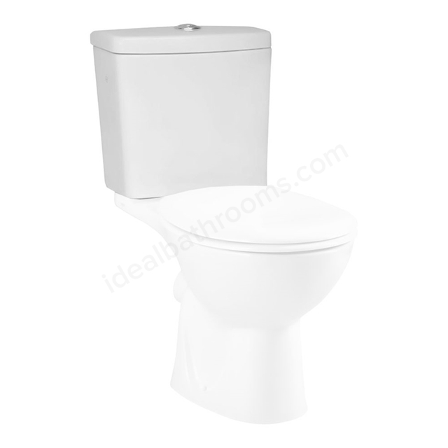 Vitra LAYTON Close Coupled Cistern; Dual Flush; White