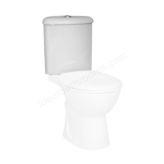 Vitra LAYTON Corner Close Coupled Cistern; Dual Flush; 6/3 Litre; White