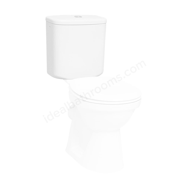 Vitra SERENADA Close Coupled Cistern; Dual Flush; White